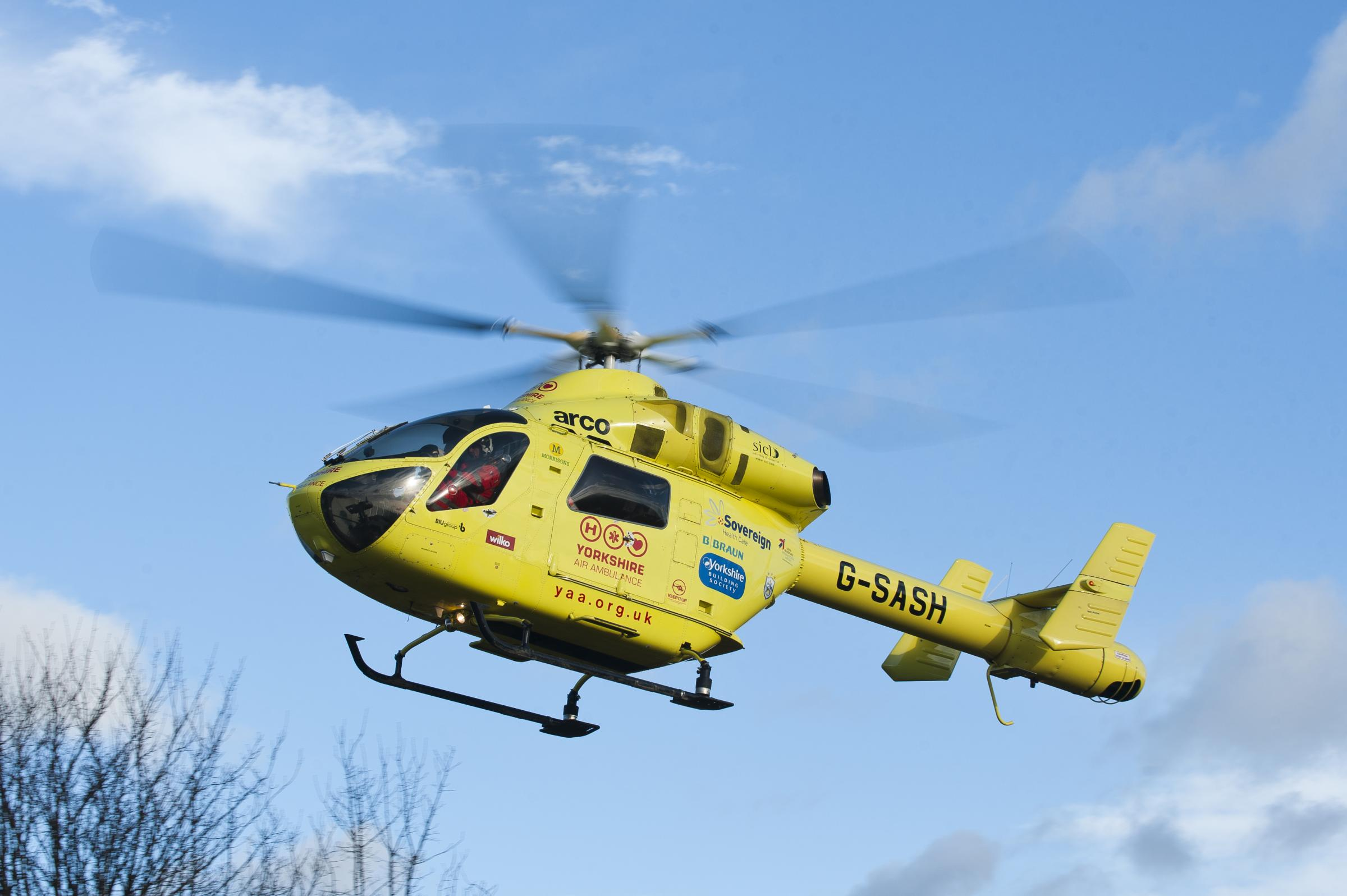UPDATED: 80-year-old cyclist airlifted to hospital after crash with car in York