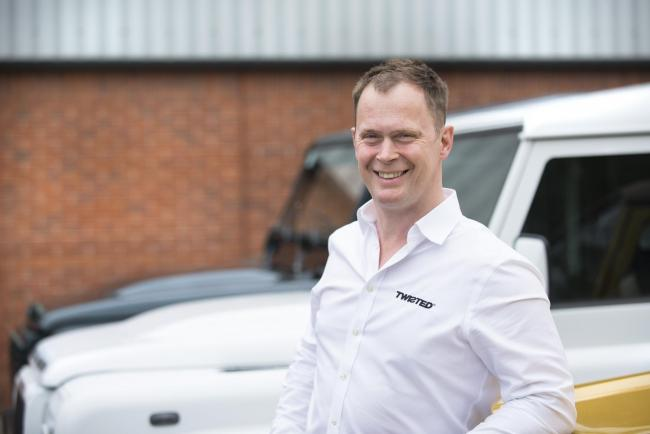 Charles Fawcett, founder and managing director of Twisted Automotive