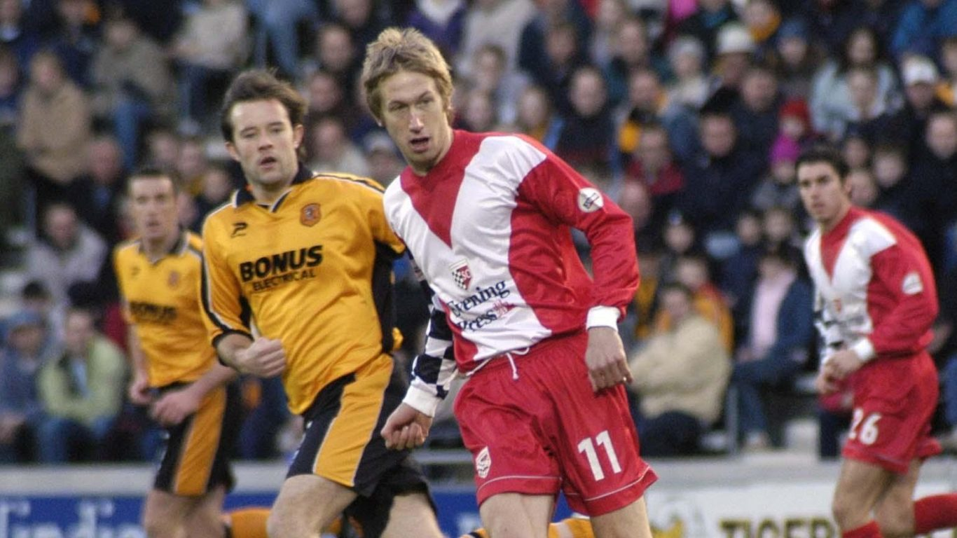 SWEDE SUCCESS: Former York City defender Graham Potter has guided Swedish minnows FC Ostersunds to a Europa League meeting with the mighty Arsenal