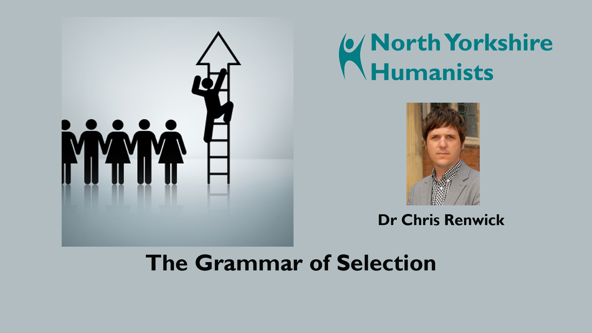 "North Yorkshire Humanists: ""The Grammar of Selection"""