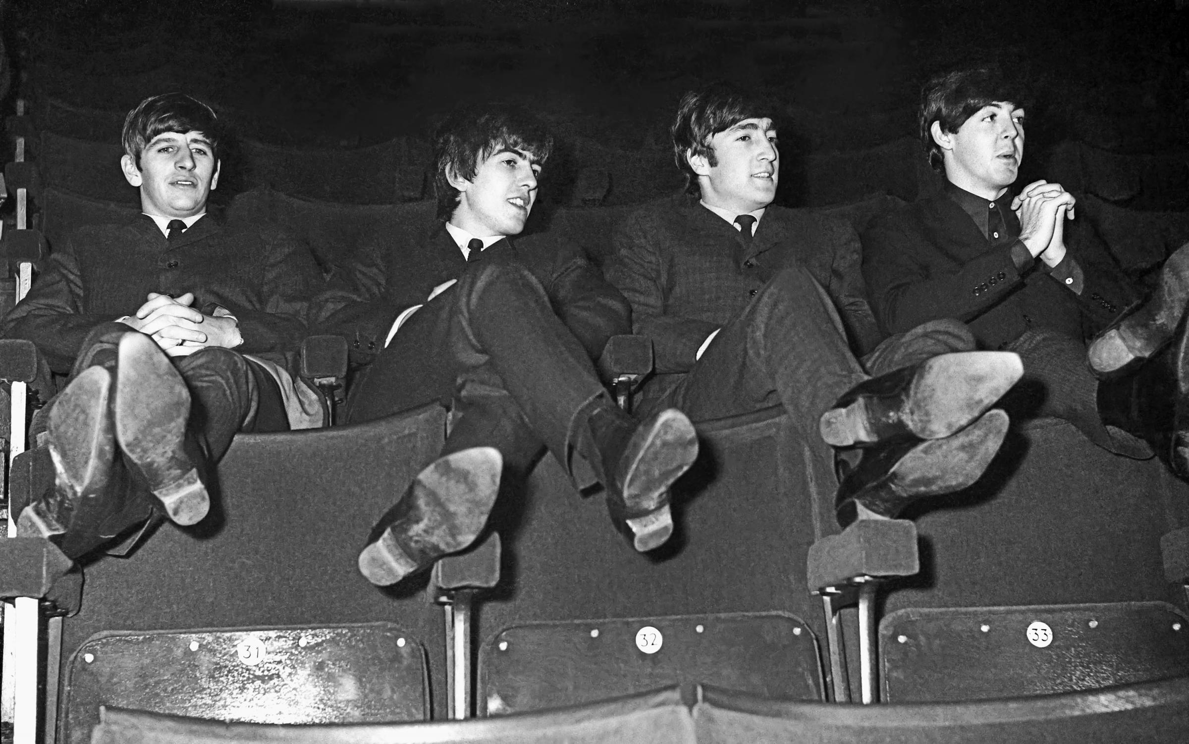 Kicking Back: The Beatles in Yorkshire. Picture: Paul Berriff