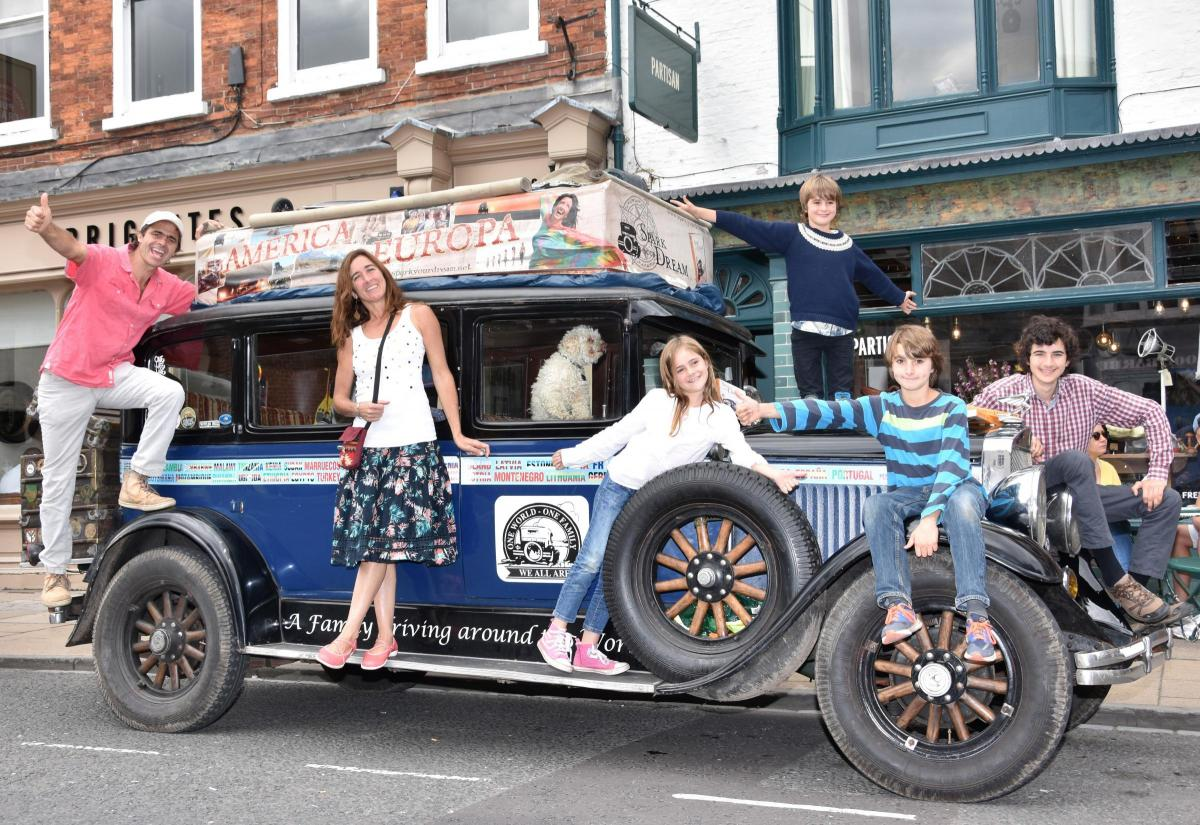 Family spends 17 years on the road in a 90 year old car | York Press