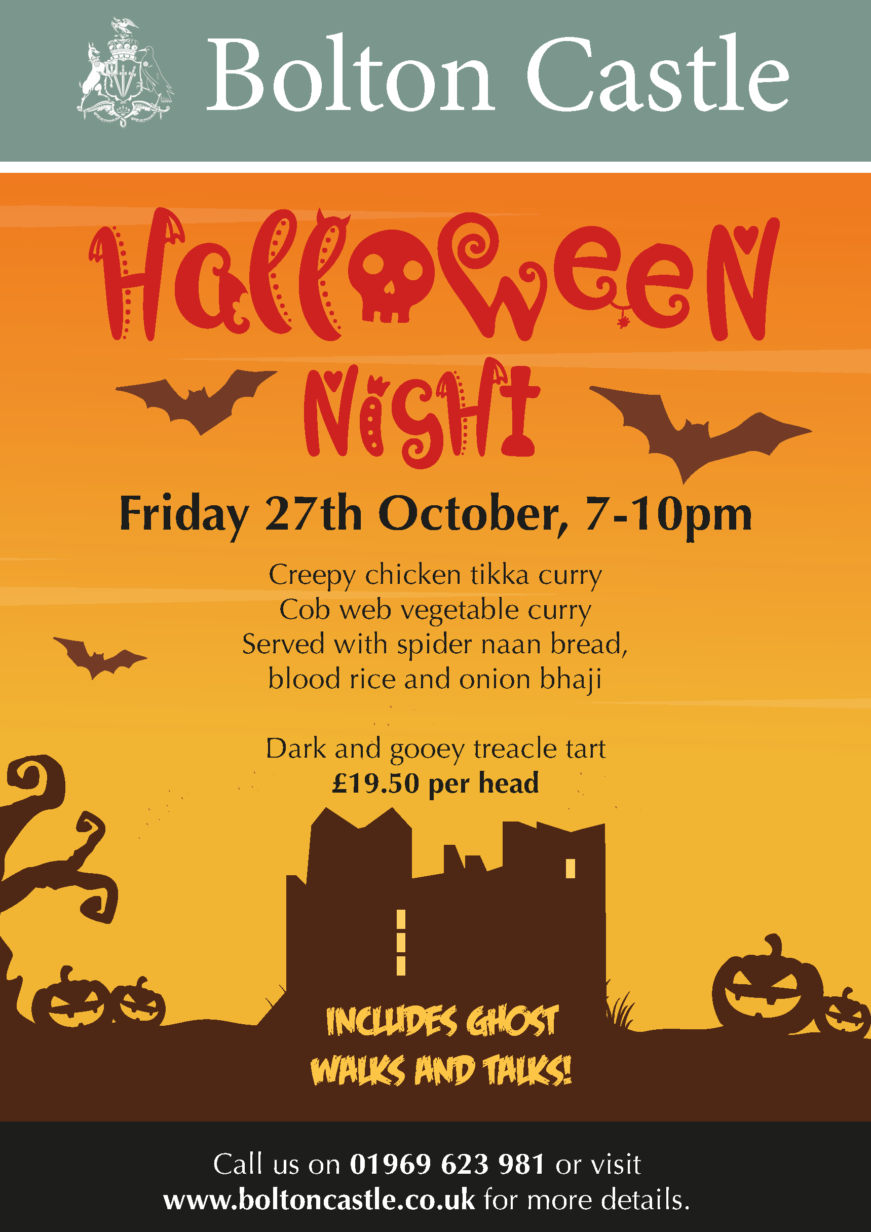 Bolton Castle Halloween Night