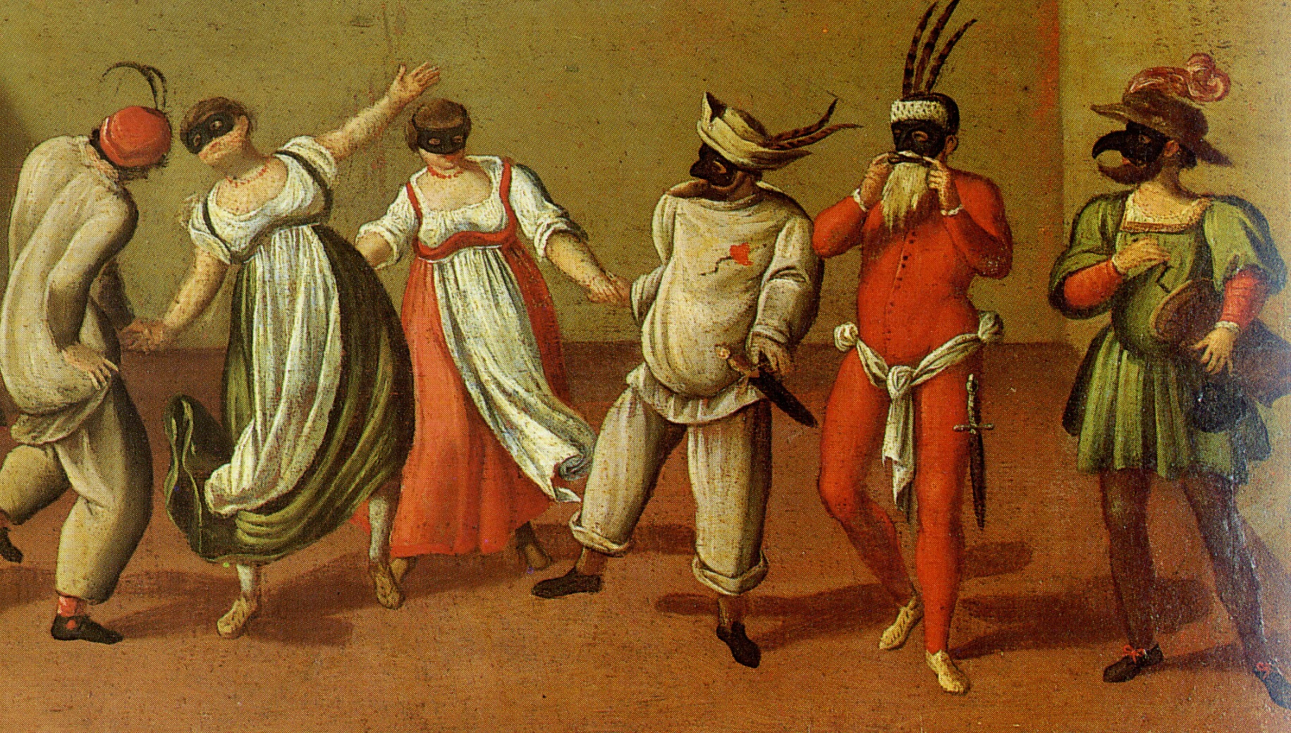 Punch, Pierrot and Pantalone