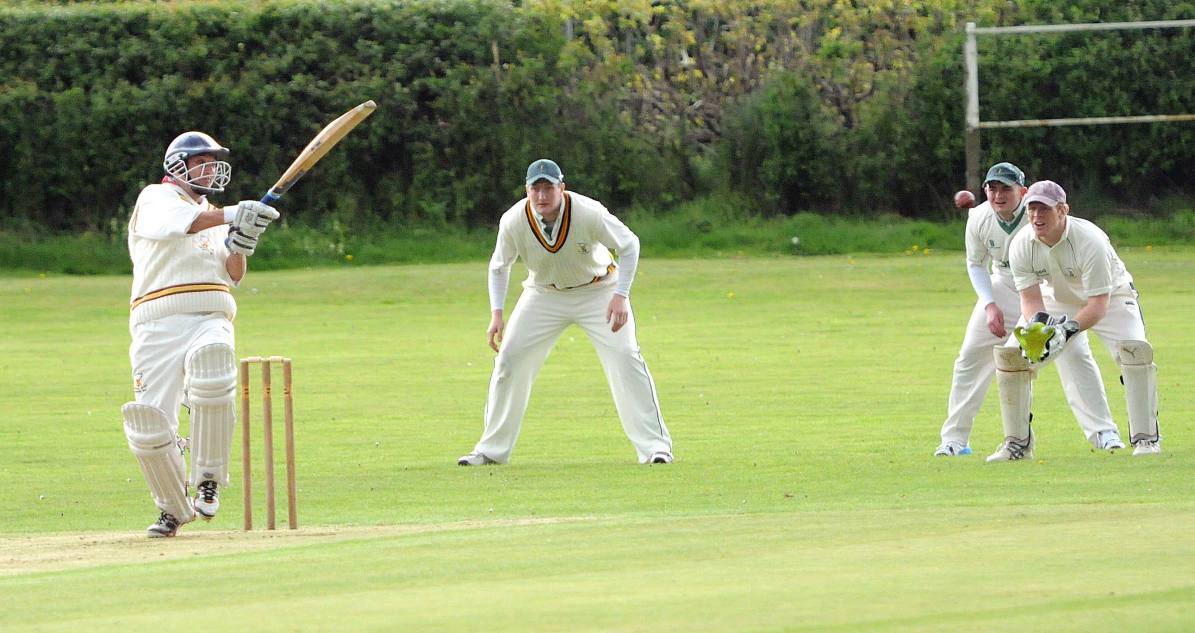 Nick Gibson made 45 for Sewerby Picture: Garry Atkinson