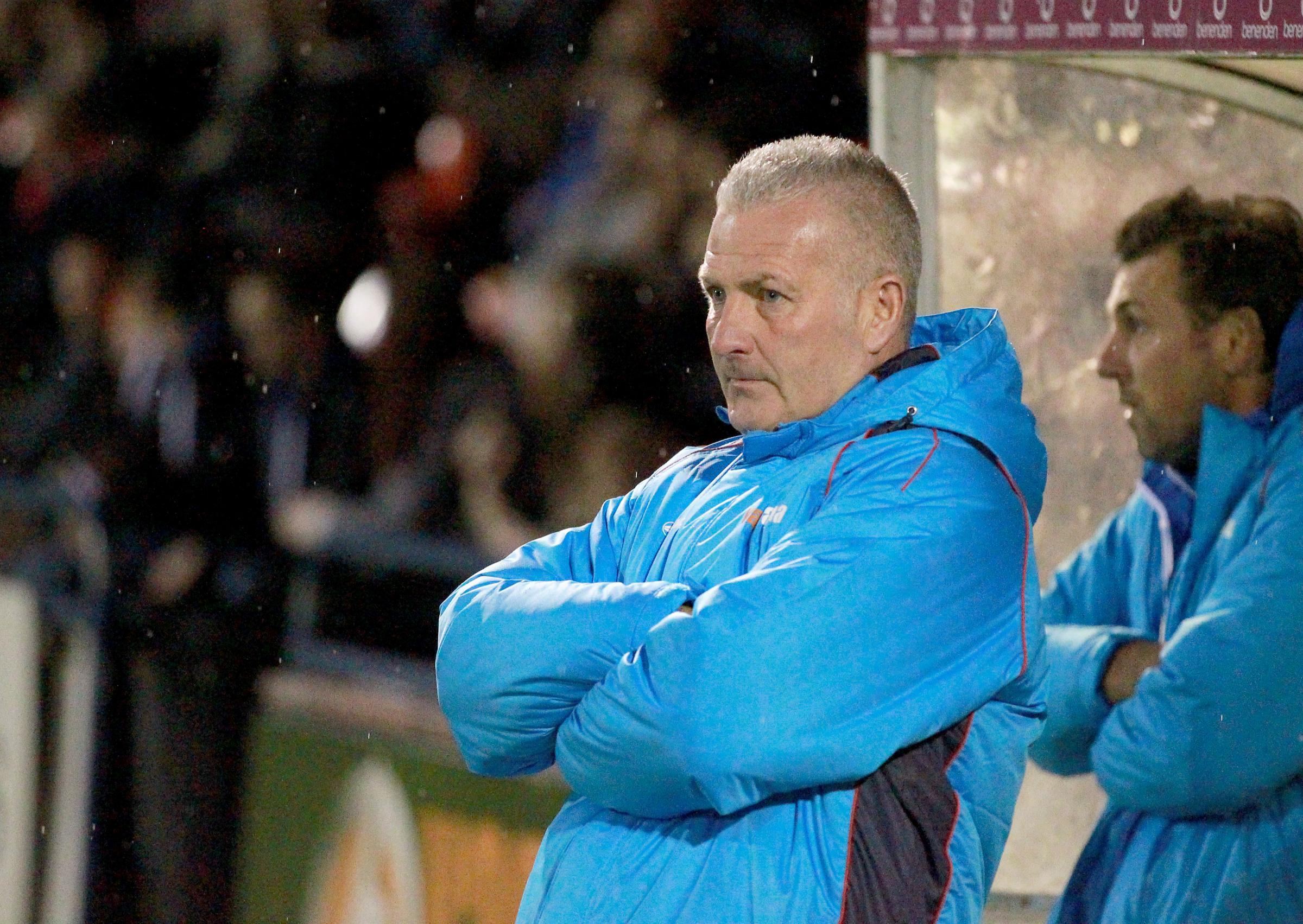 FRUSTRATED: York City boss Gary Mills. Picture: Gordon Clayton