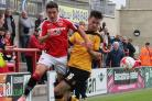 RED ALERT: York City will need to pay attention to former Morecambe striker Jack Redshaw (pictured left). The 26-year-old is Salford's leading scorer on five goals this season and has already hit a hat-trick against Kidderminster