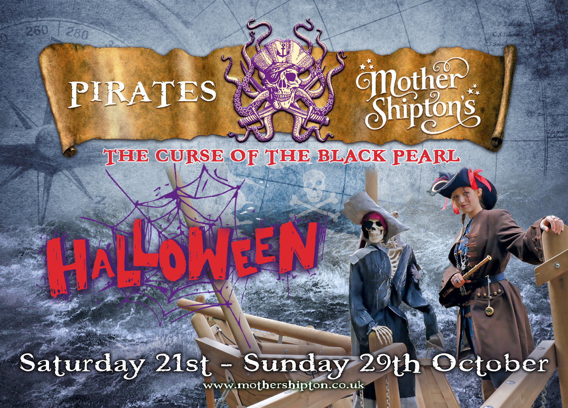 Mother Shipton's Pirates - Curse of the Black Pearl