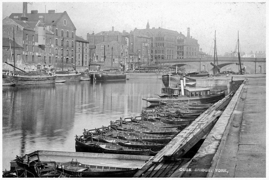 c06726de Boating on the Ouse more than 100 years ago... | York Press