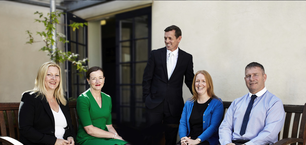 Inclusion Housing: Michelle Dyas, Sue Milnes, Neil Brown, Sarah Waters and Paul Atkins