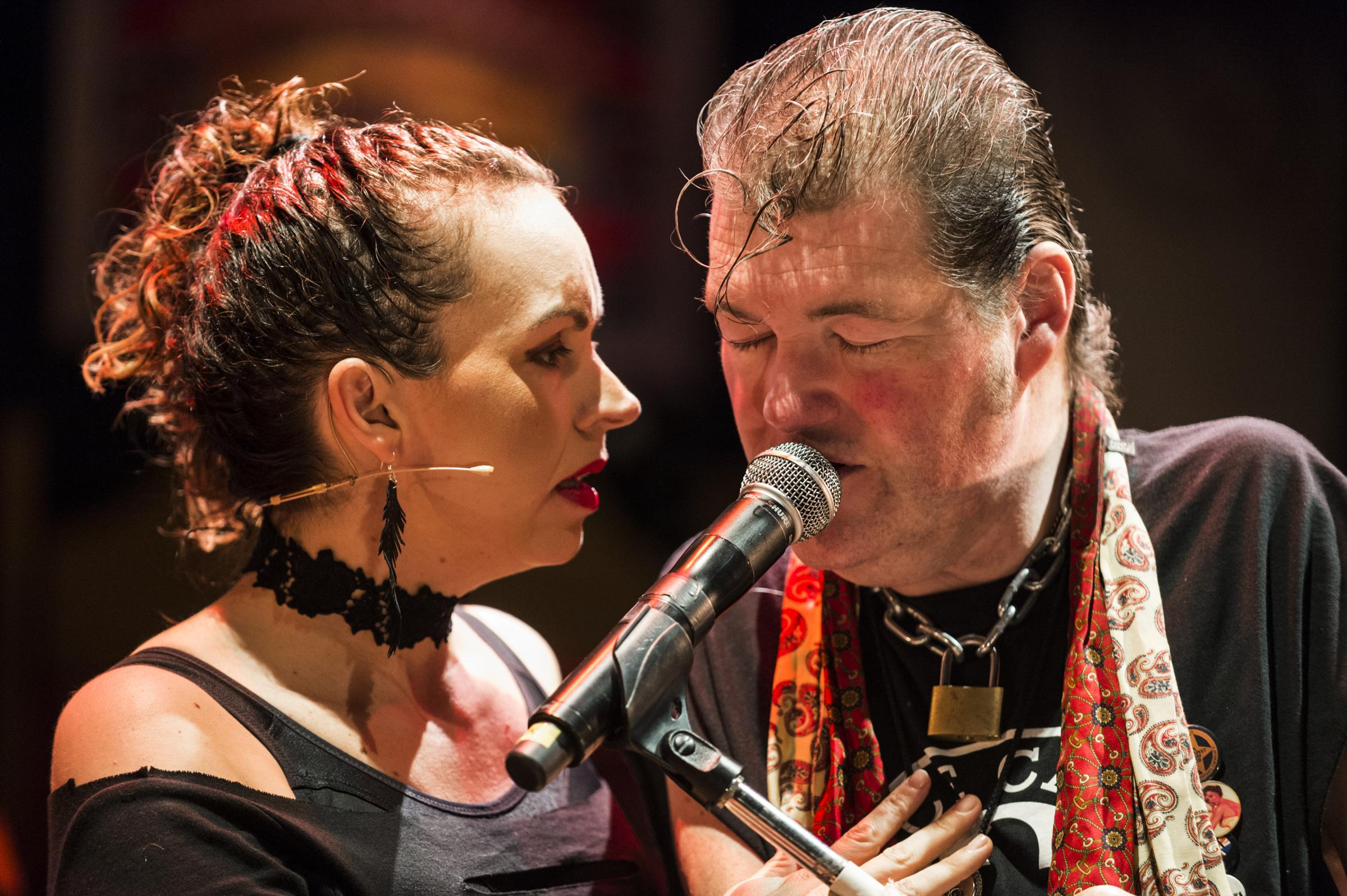 Graeae Theatre Company in Reasons To be Cheerful. Picture: Patrick Baldwin