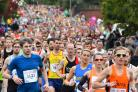Thousands of runners tackle Plusnet Yorkshire Marathon