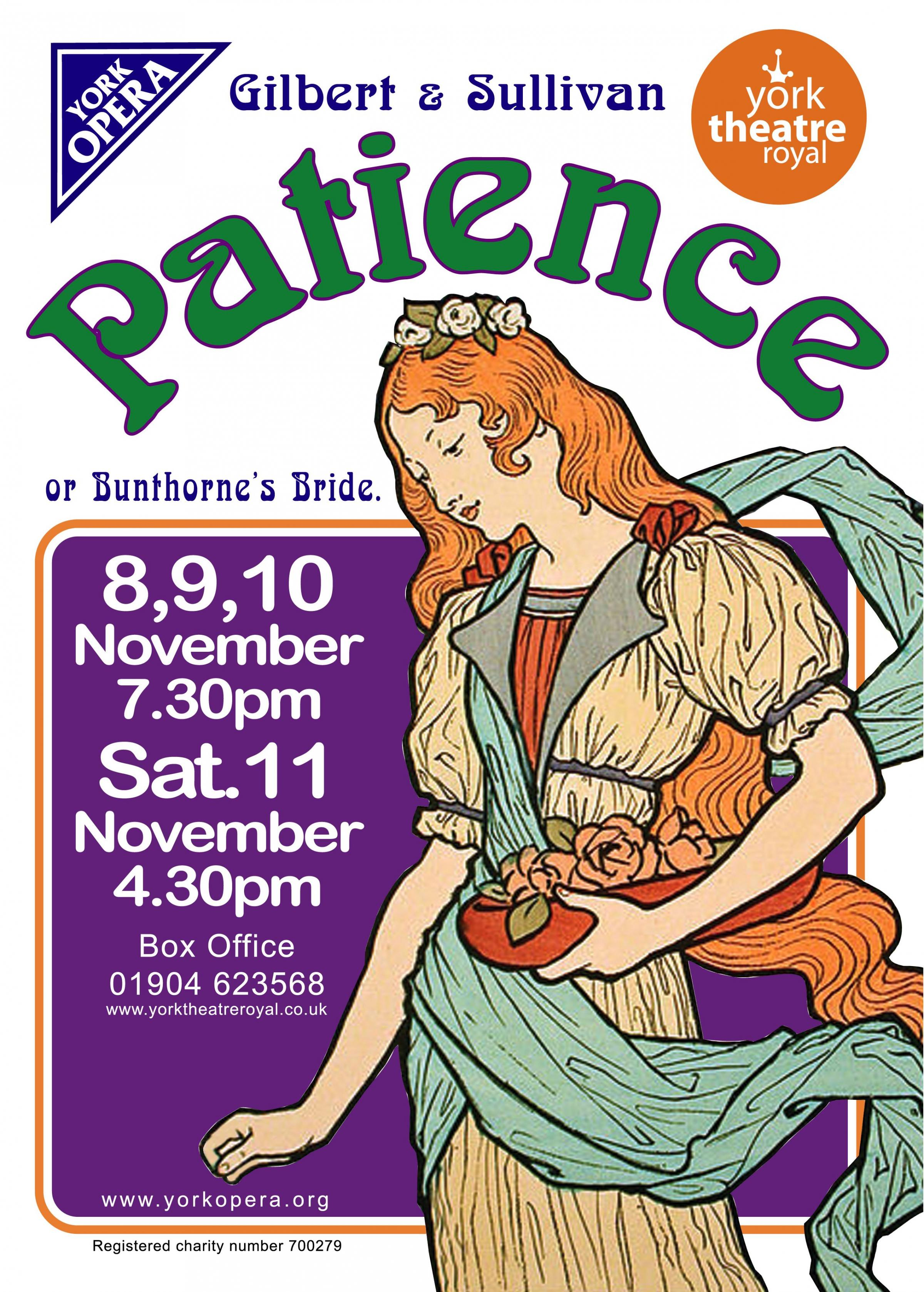 Patience by Gilbert & Sullivan