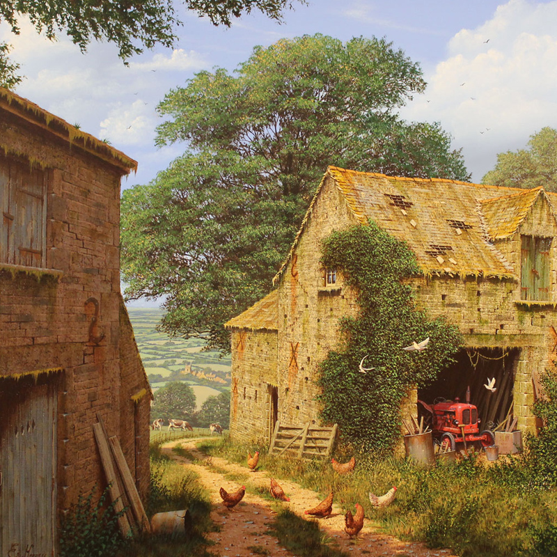 Edward Hersey and Gordon Lees Exhibition 2017