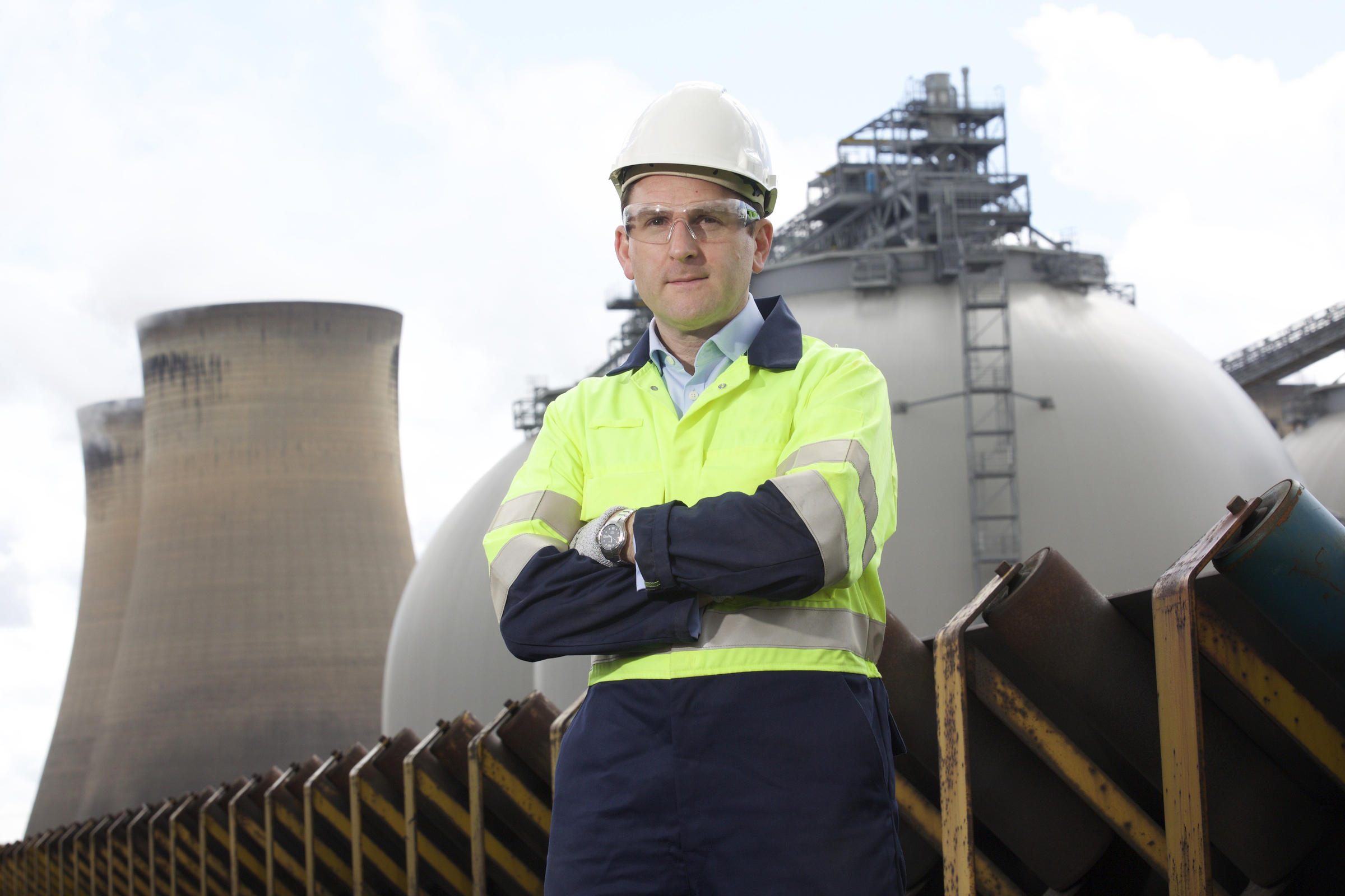 Drax Power Ltd.Andy Koss, Chief Executive of Drax Power Ltd. PICTURE: SHAUN FLANNERY .