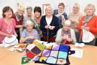 A group of keen knitters have used their creativity to spread some kindness in their local community.Foxy Crafters, who meet at Foxwood Community Centre, have completed three blankets, to be given as gifts to local people at Christmas.Picture Frank Dwyer.