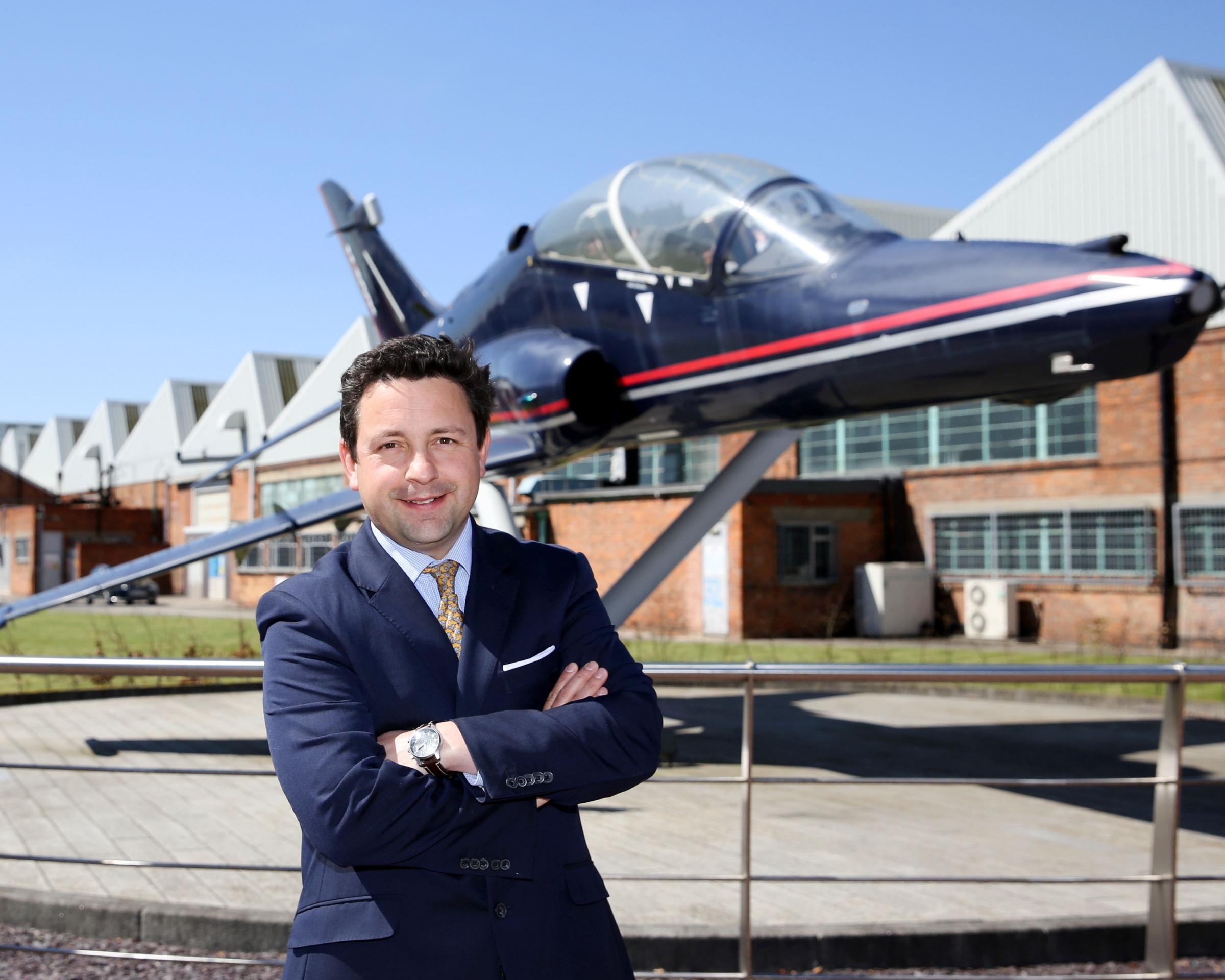 James Appleton-Metcalfe of Citivale at the Humber Enterprise Park