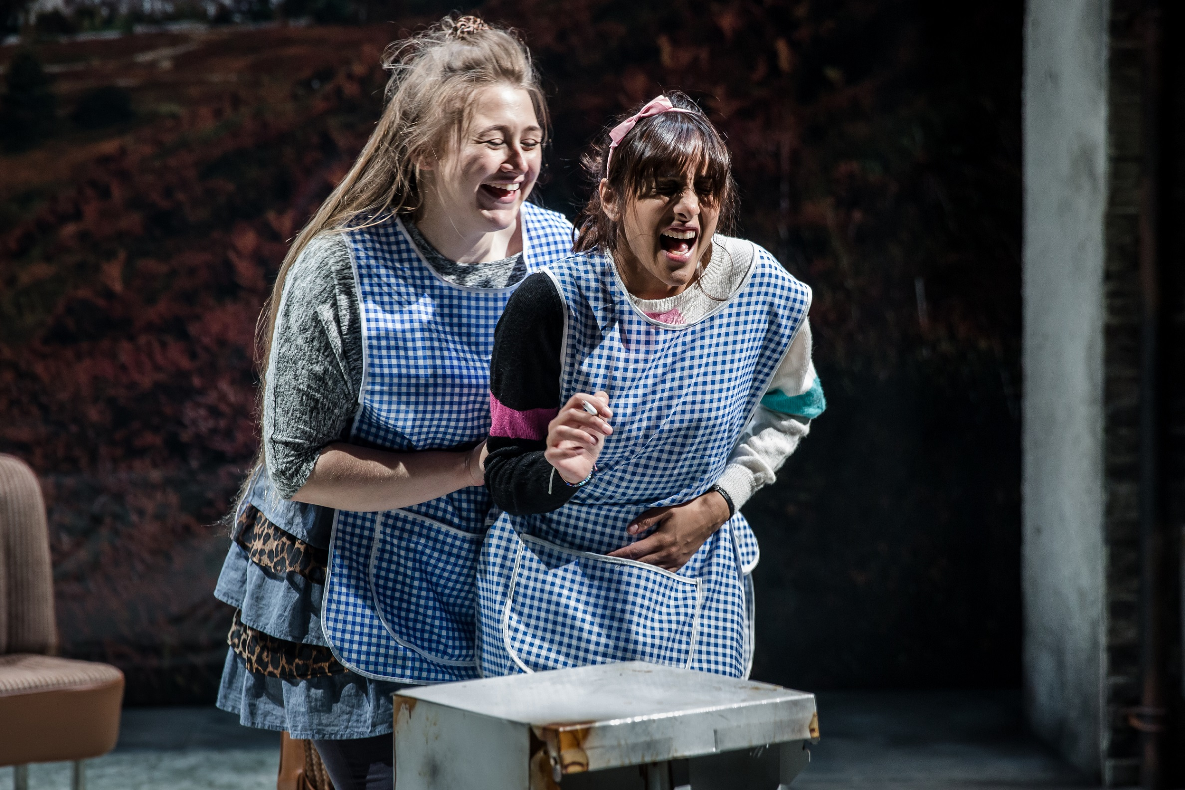 Gemma Dobson's Sue, left, and Taj Atwal's Rita in Rita, Sue And Bob Too. Picture: The Other Richard