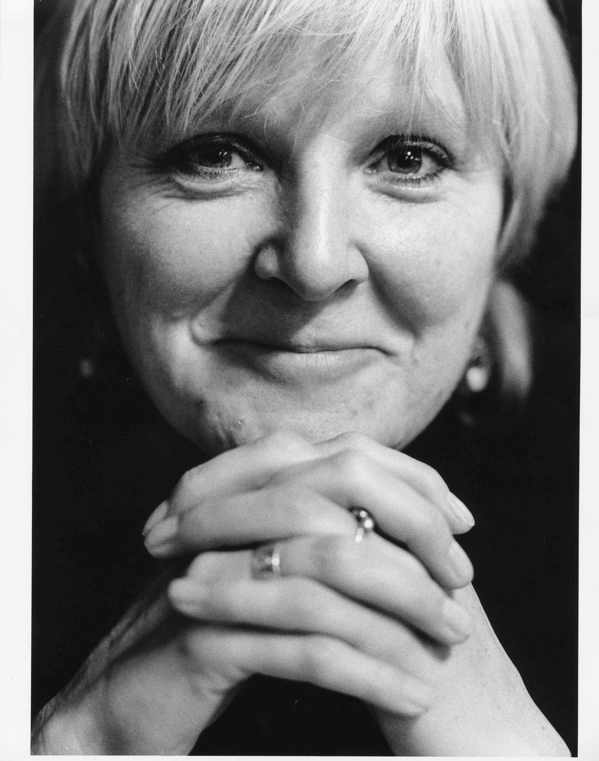 Playwright Bryony Lavery. Picture: Gordon Rainsford