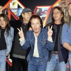 York Press: Malcolm Young, Brian Johnson, Angus Young, Phil Rudd and Cliff Williams from AC/DC (Yui Mok/PA)