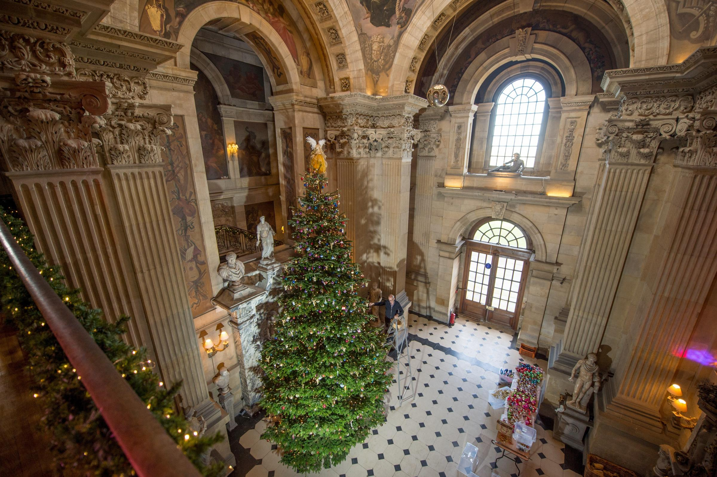 Castle Howard at Christmas Picture Charlotte Graham