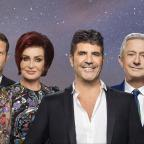 York Press: The X Factor's Dermot O'Leary, Sharon Osbourne, Simon Cowell, Louis Walsh and Nicole Scherzinger (Syco/Thames)