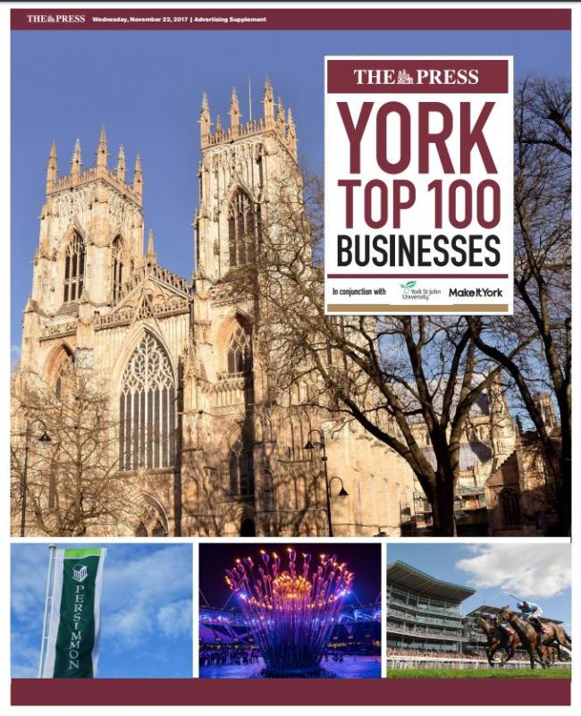 The York Top 100 Business report