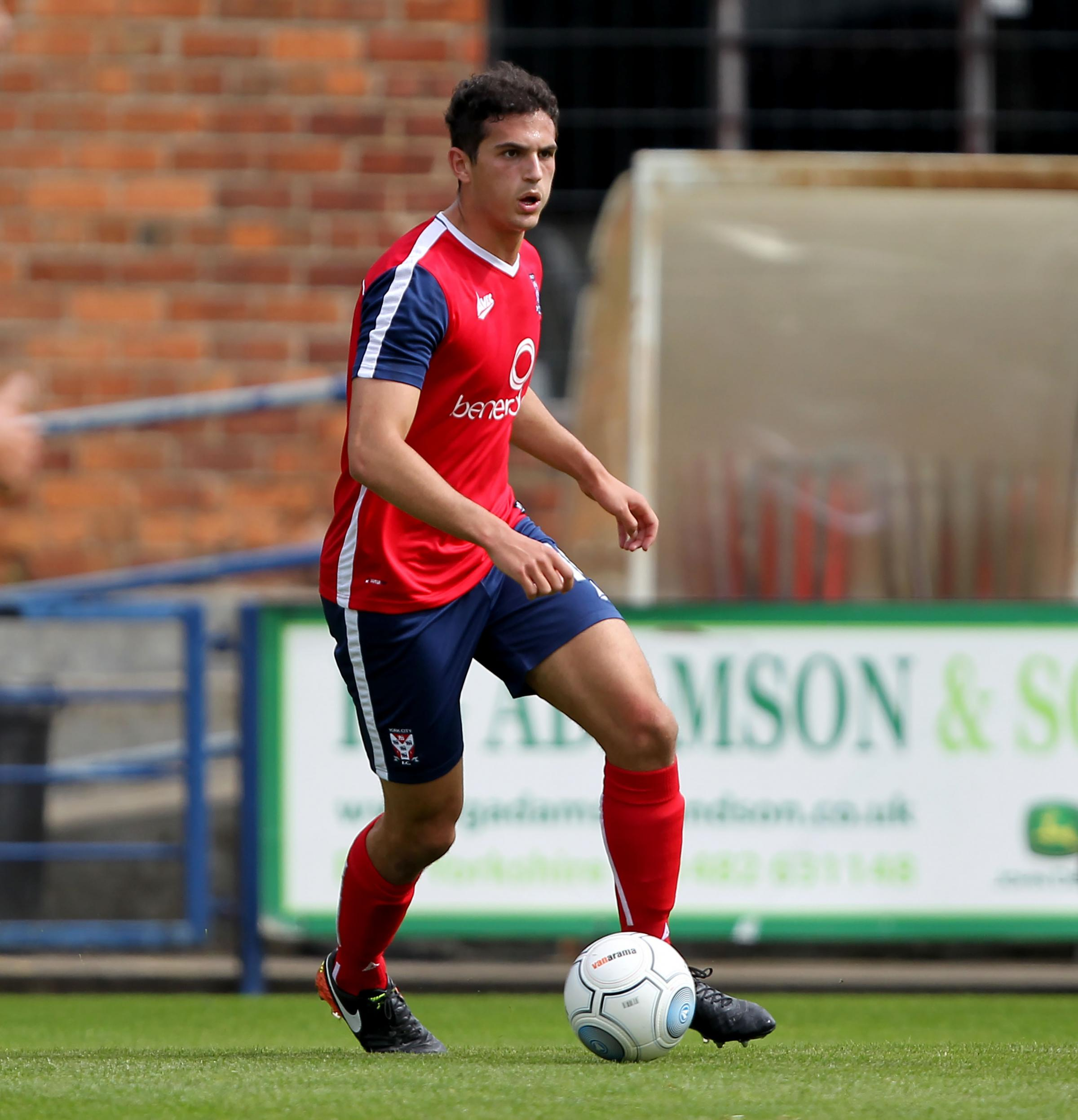 york city fc. hard to defend: centre-back jassem sukar was one of five york city players fc