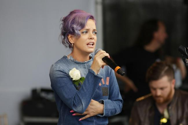 Lily Allen defends Denise Welch over Piers Morgan mental