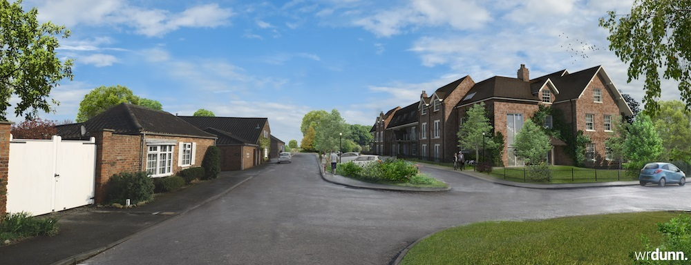 An artists impression of The Fordlands Scheme