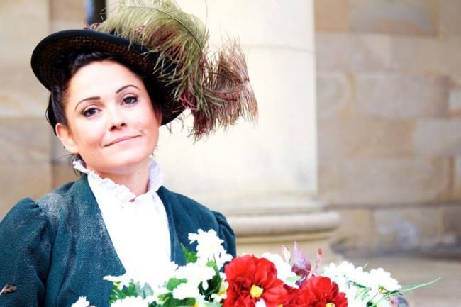 Loverly performance: Toni Feetenby as Eliza in Pick Me Up Theatre's My Fair Lady