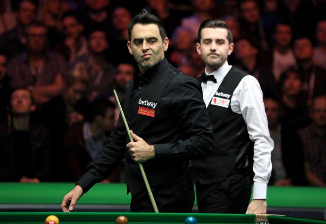 Ronnie O'Sullivan, left, and Mark Selby are the main contenders for the 2017 Betway UK Championship title at the York Barbican