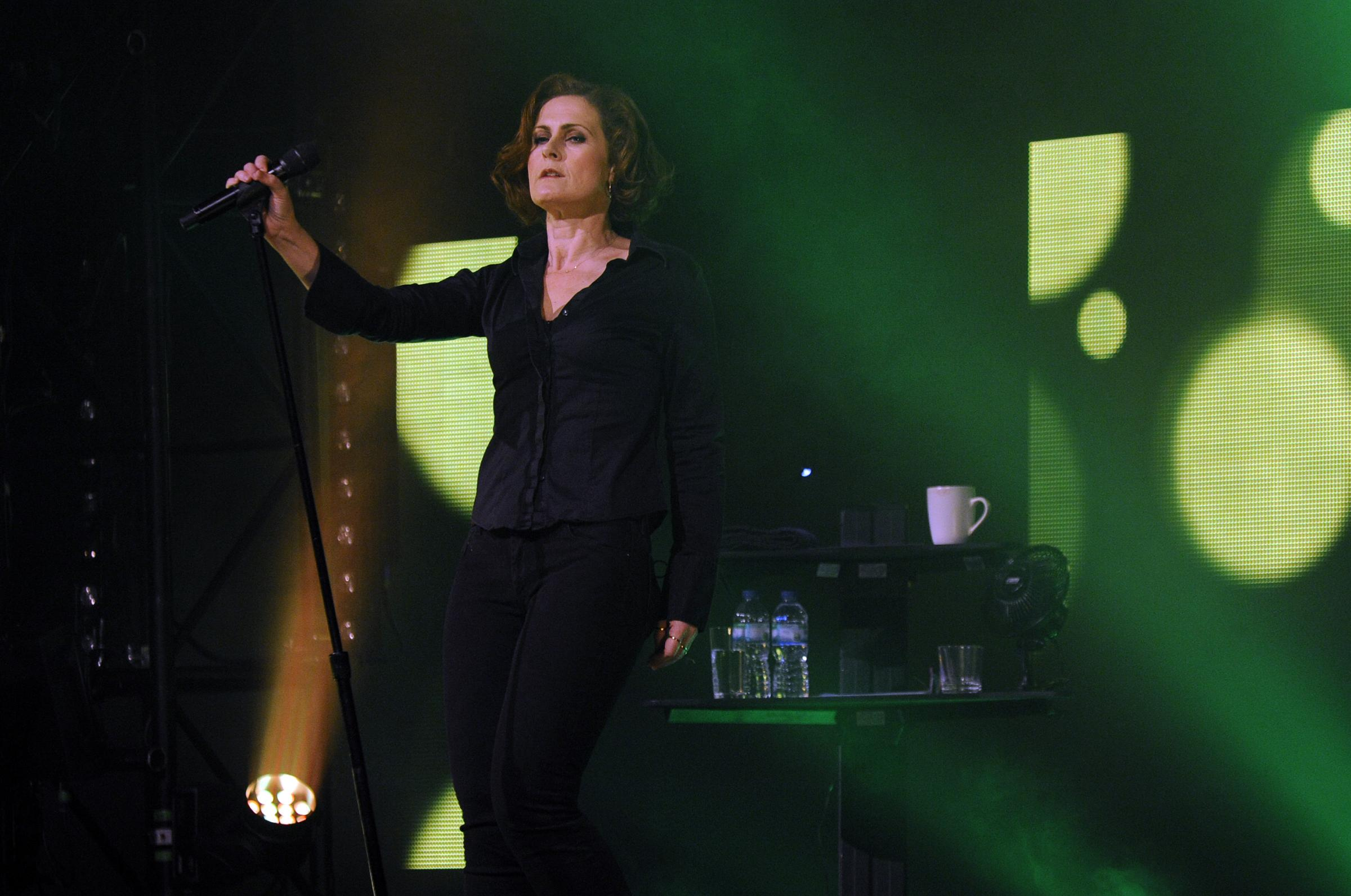 Alison Moyet in her spellbinding performance at York Barbican