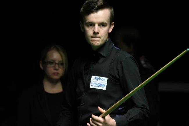Ashley Hugill is ready for the Betway UK Championship
