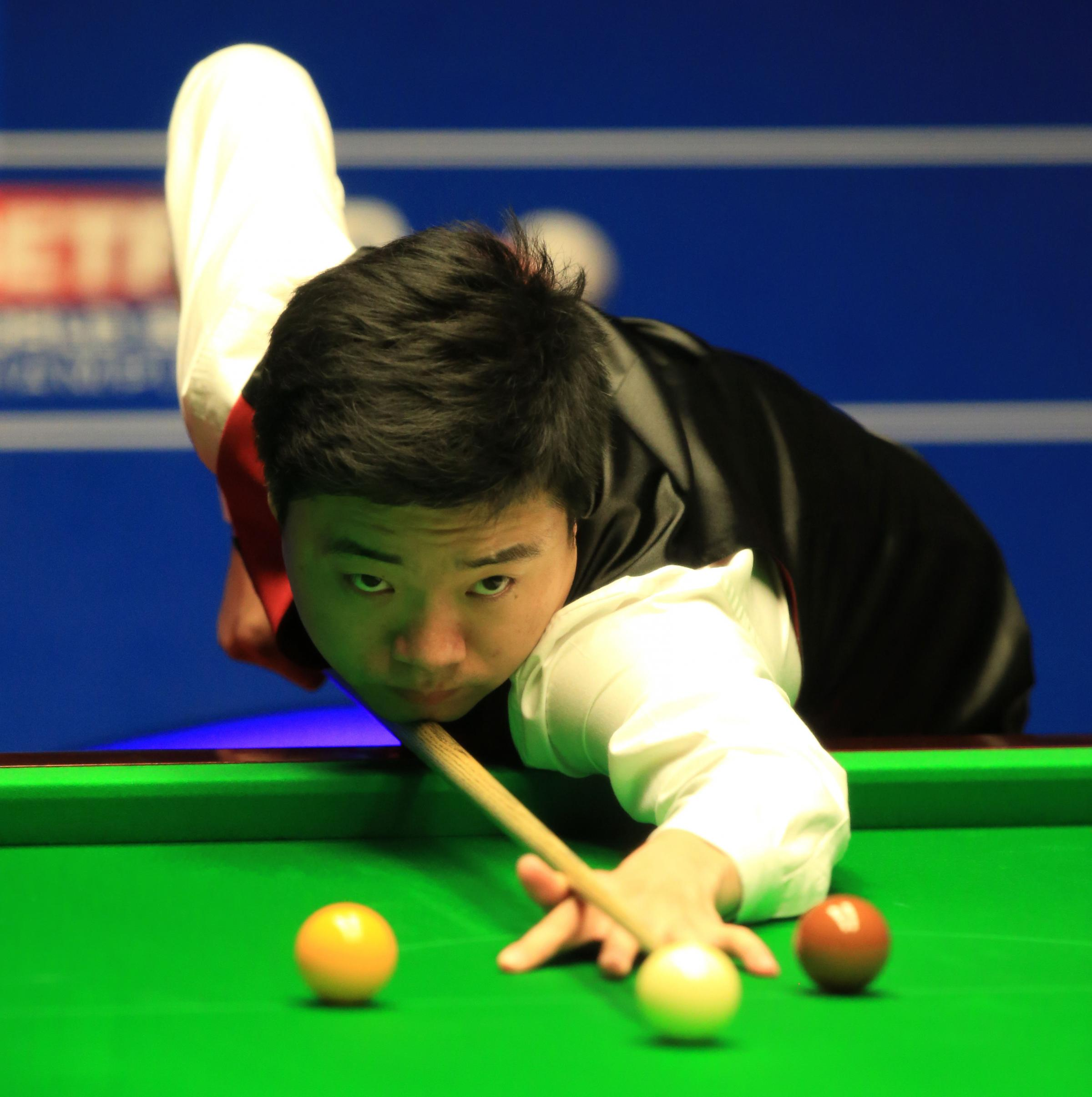 Ding Junhui has a mixed record at the UK Championship