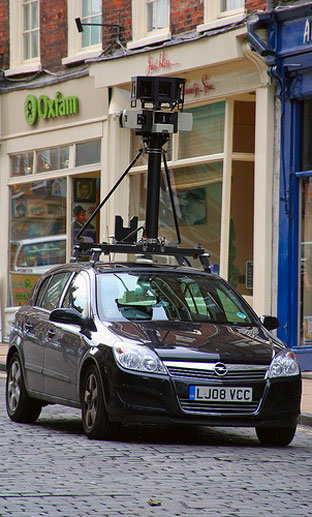 One of the camera cars in Micklegate, York