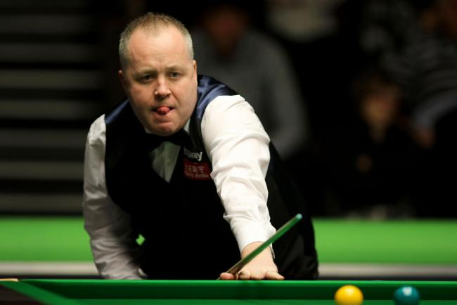 John Higgins in action at this year's Betway UK Championship at the Barbican