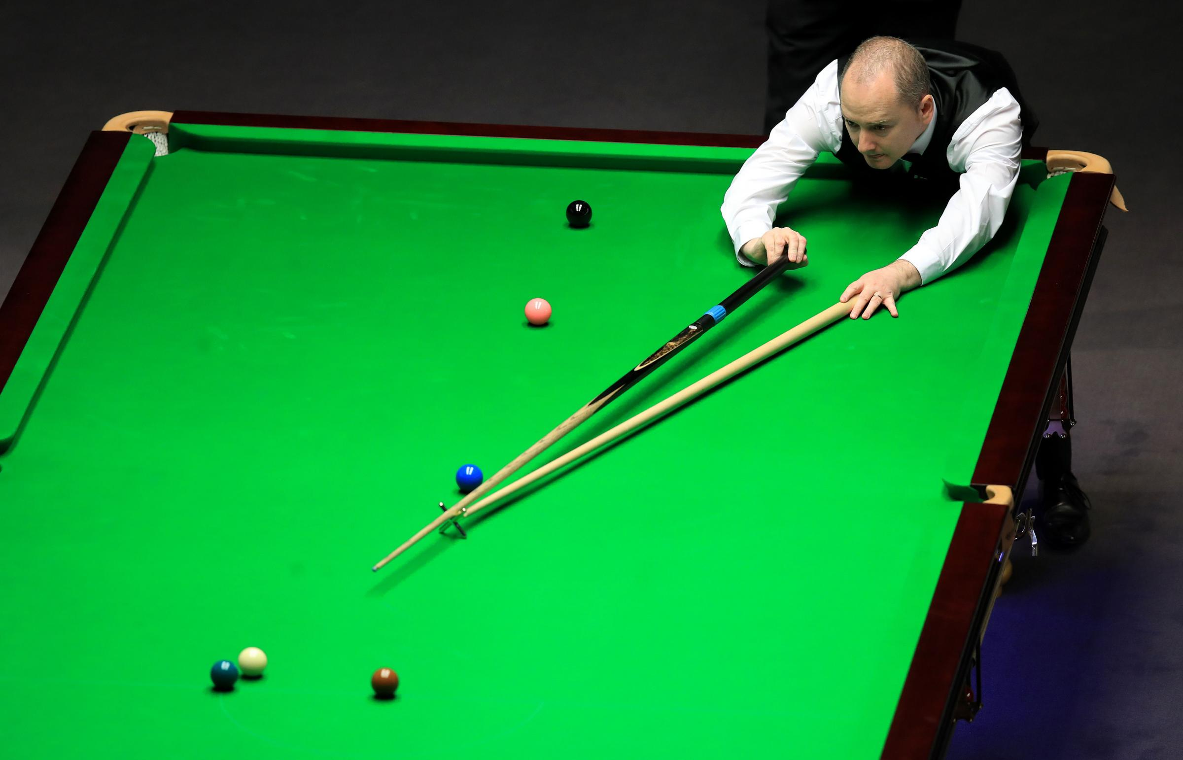 Graeme Dott during his match with Judd Trump on day seven of the 2017 Betway UK Championships at the Barbican