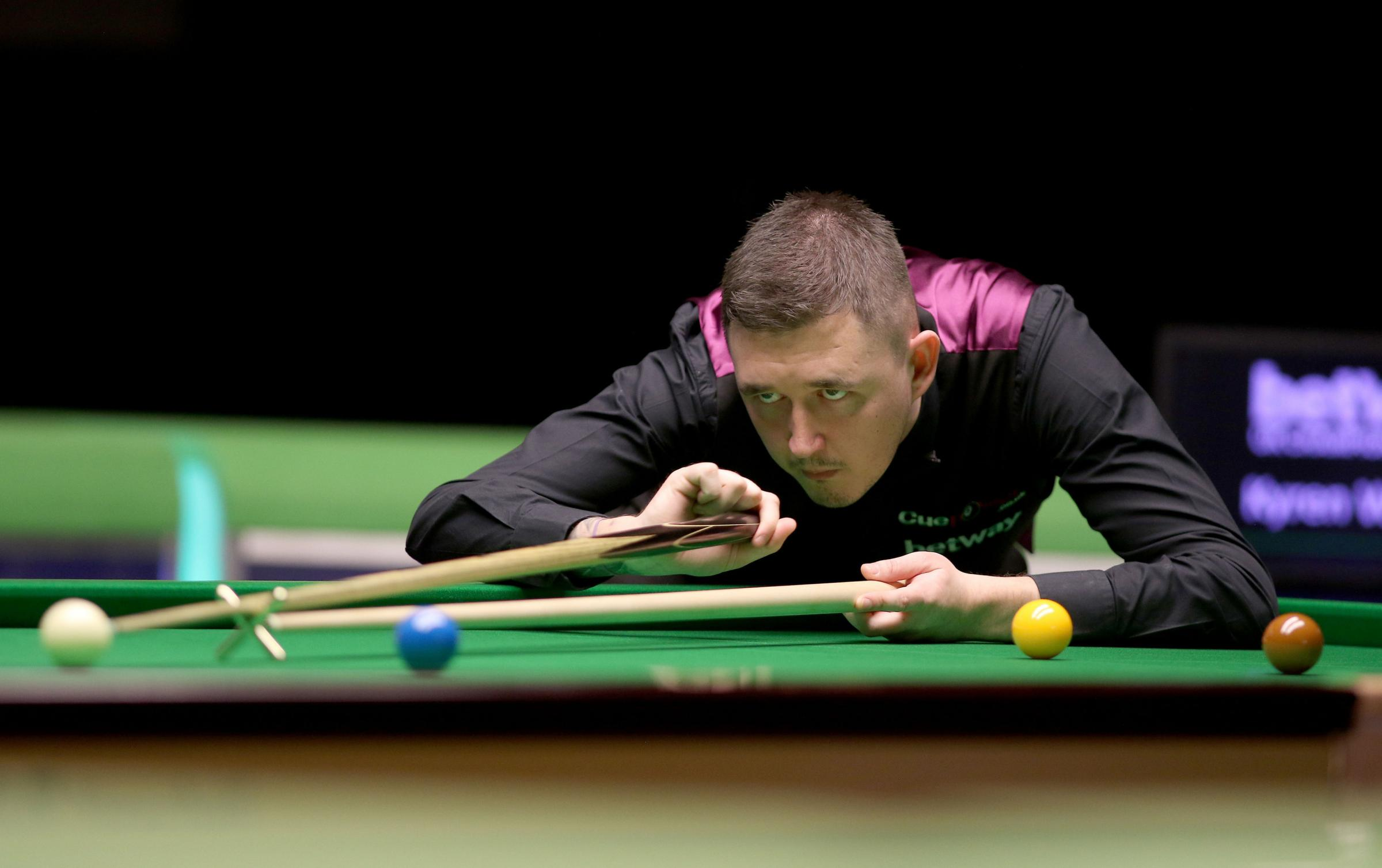 Kyren Wilson was another high-ranking star to crash out of this year's Betway UK Championship at the Barbican
