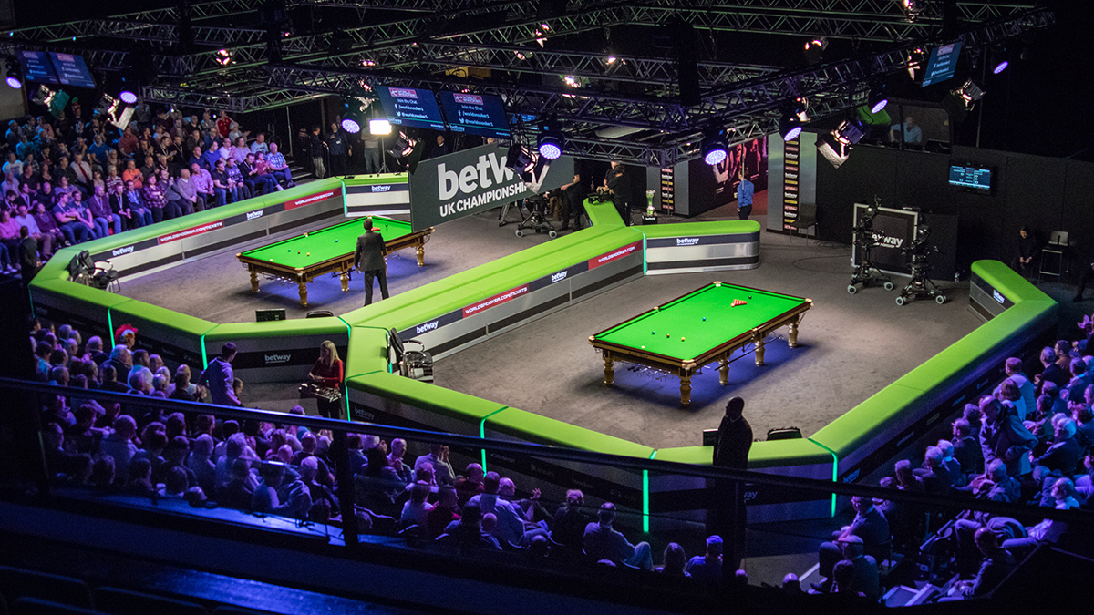 The Barbican will once again host the Betway UK Championship in 2018