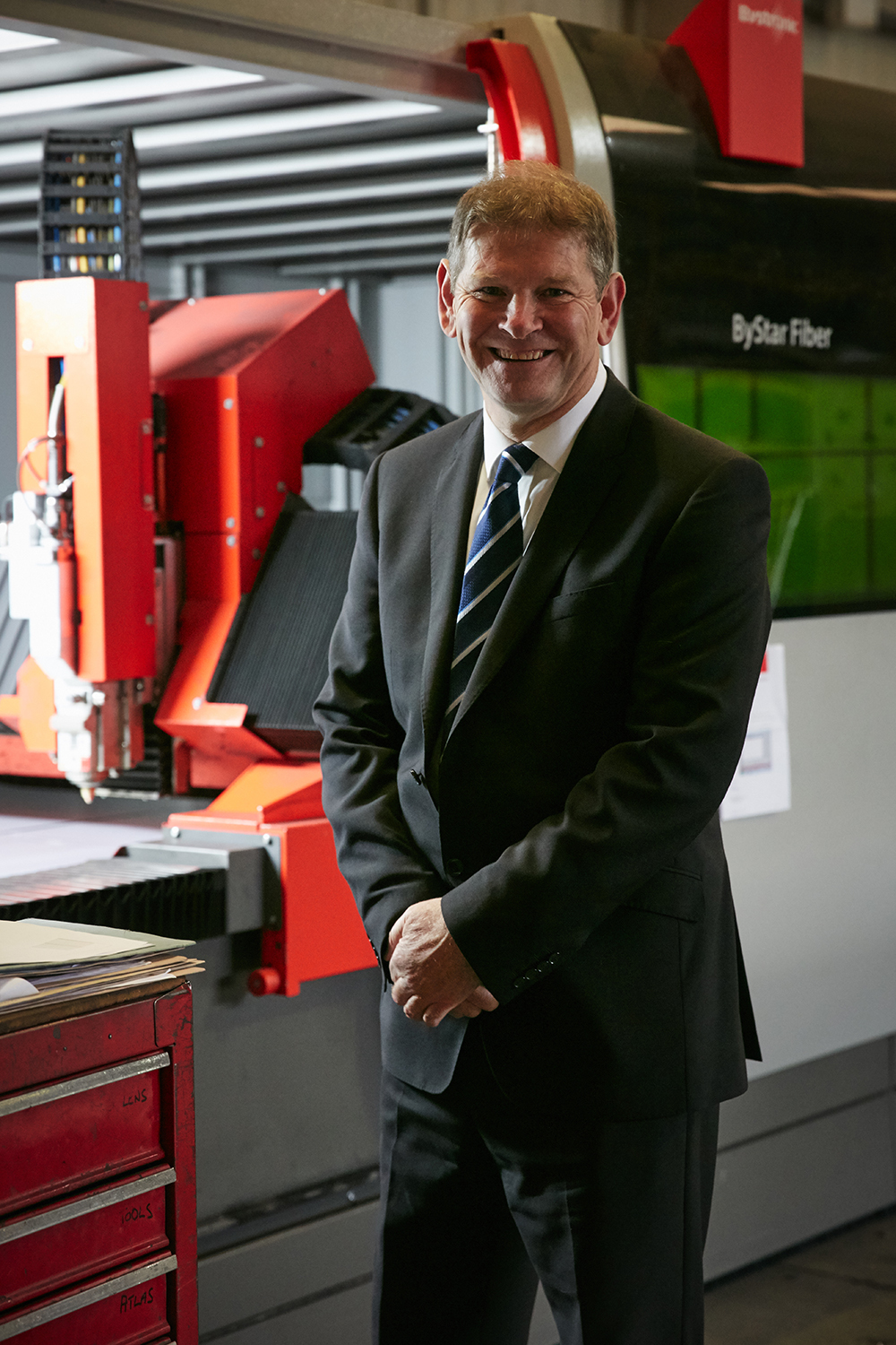 GOOD INVESTMEMT: Charles Corner, MD of Malton Laser
