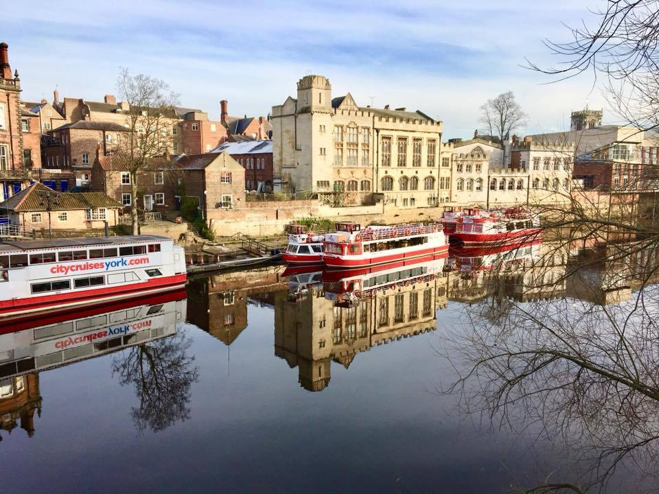 Sarah Gabbatiss took this picture of reflections in the River Ouse in York