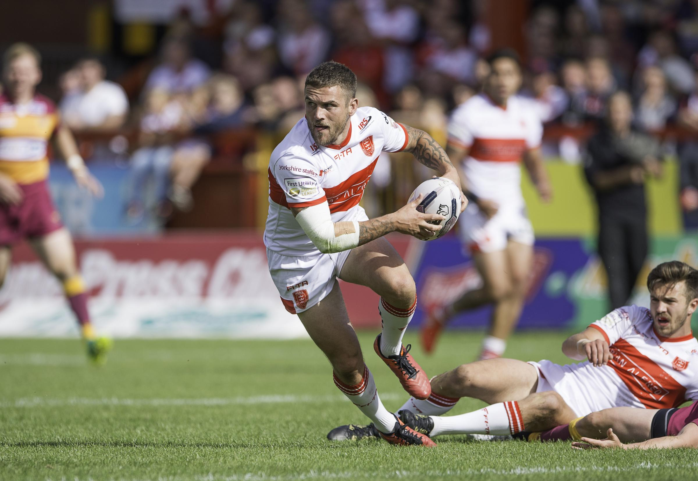 Ben Cockayne in action for Hull KR. Picture: Allan McKenzie/SWpix.com