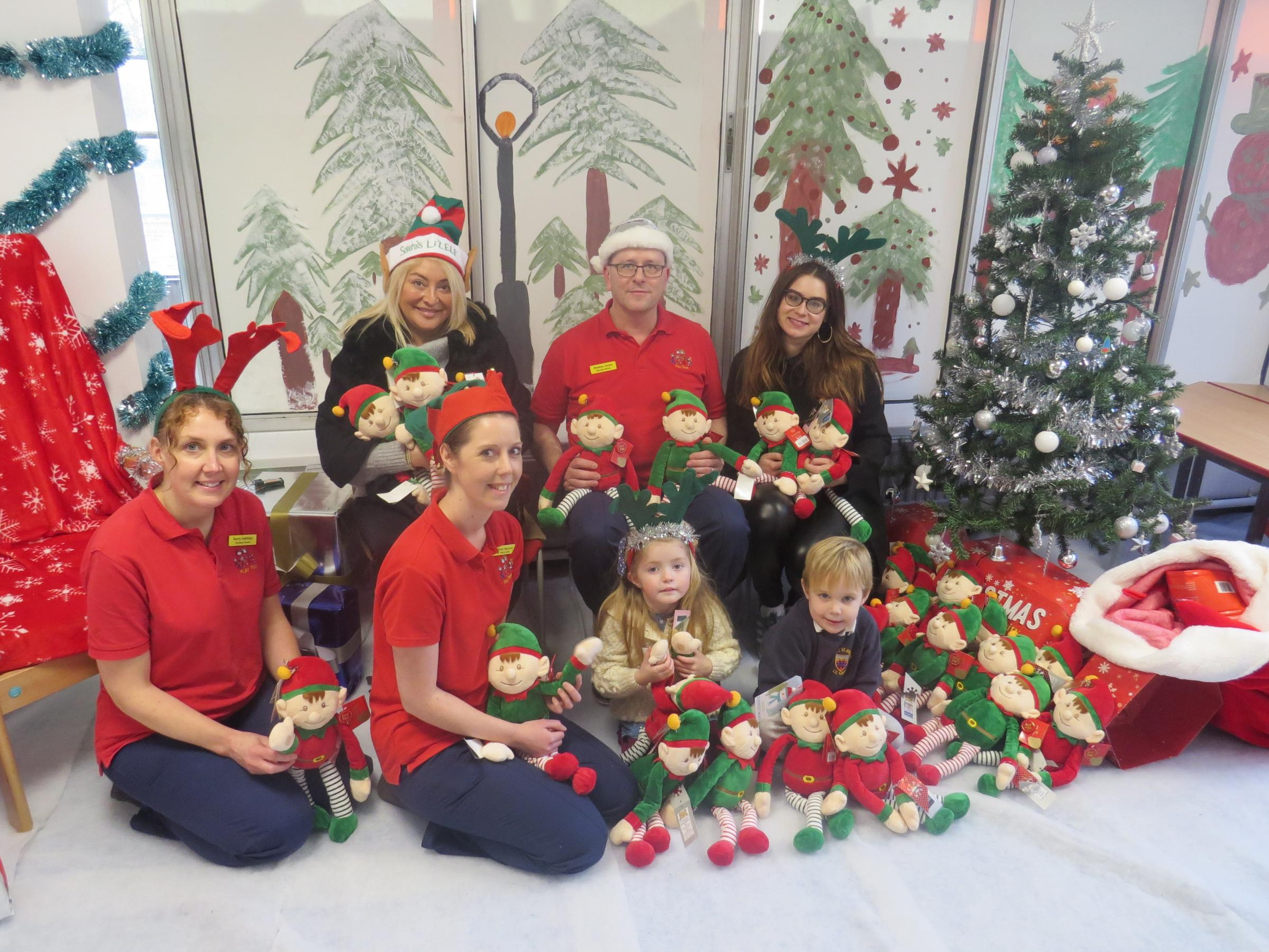 Christmas Toy Joy For Youngsters On Hospital Children S Ward