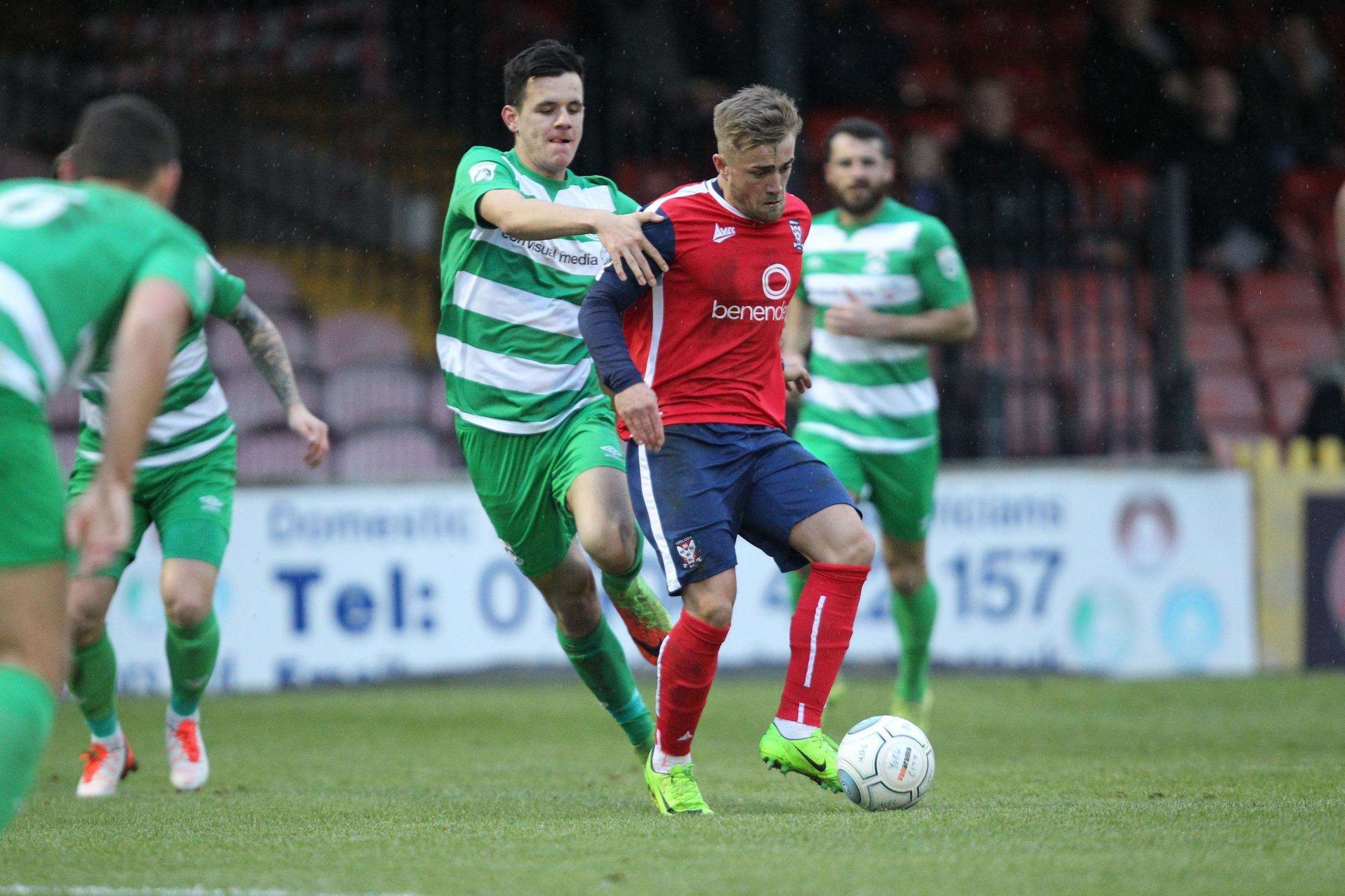 PAT ON THE BACK: York City sporting director Dave Penney has sung the praises of on-loan Middlesbrough midfielder Alex Pattison, who the club would like to retain until the end of the season