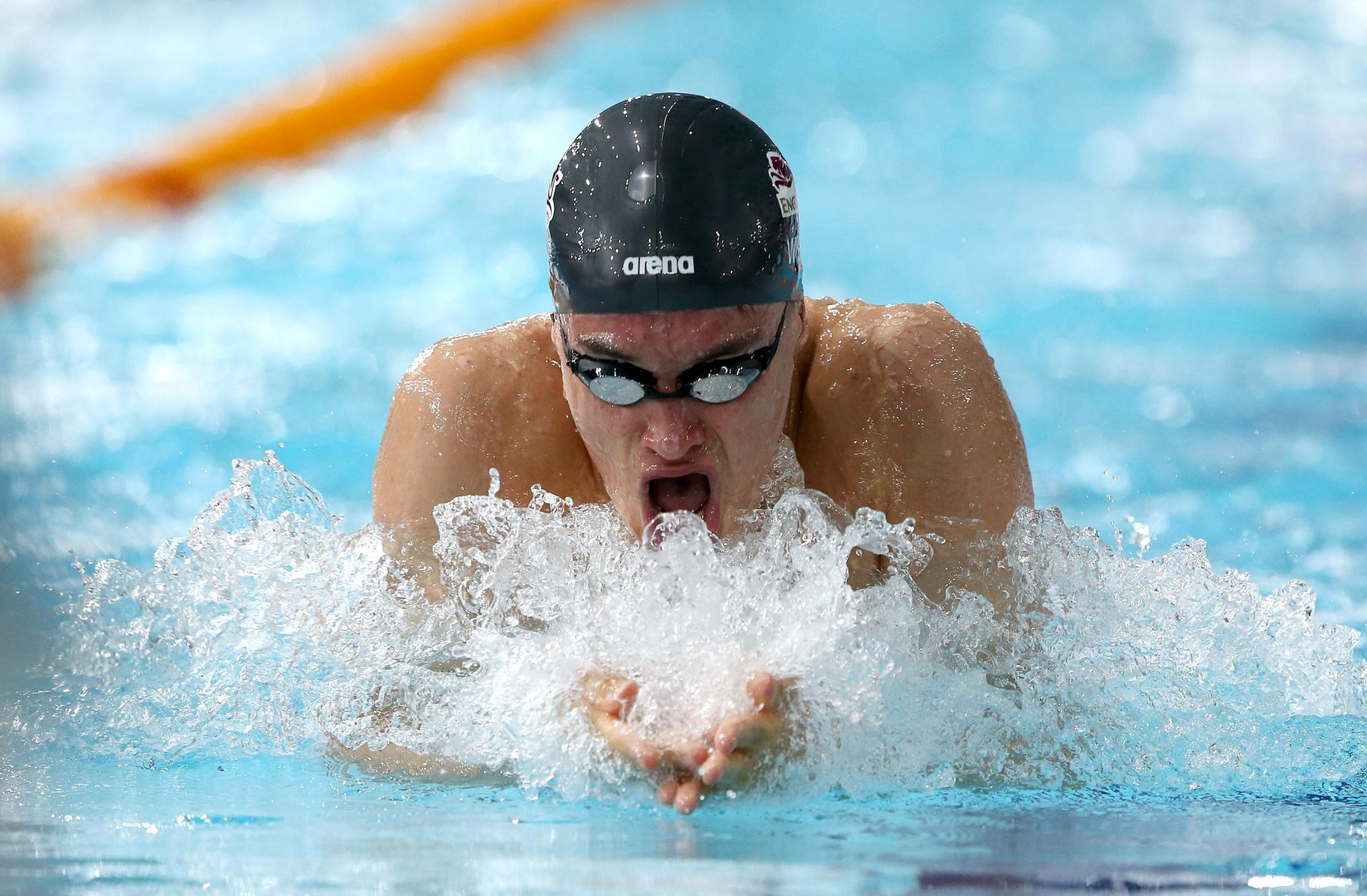 York and England swim star James Wilby, who is heading to the Gold Coast Commonwealth Games in April