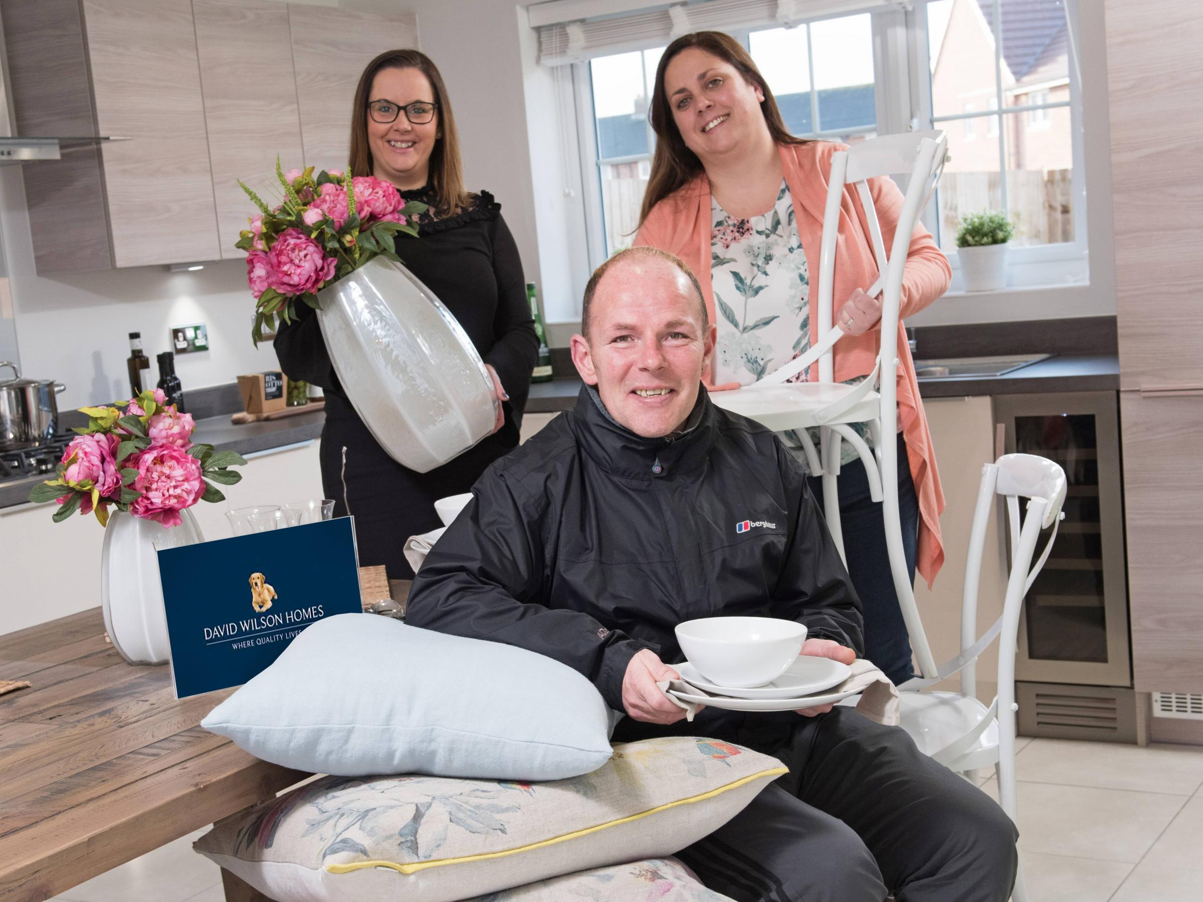Housebuilder David Wilson Homes donates show home furniture