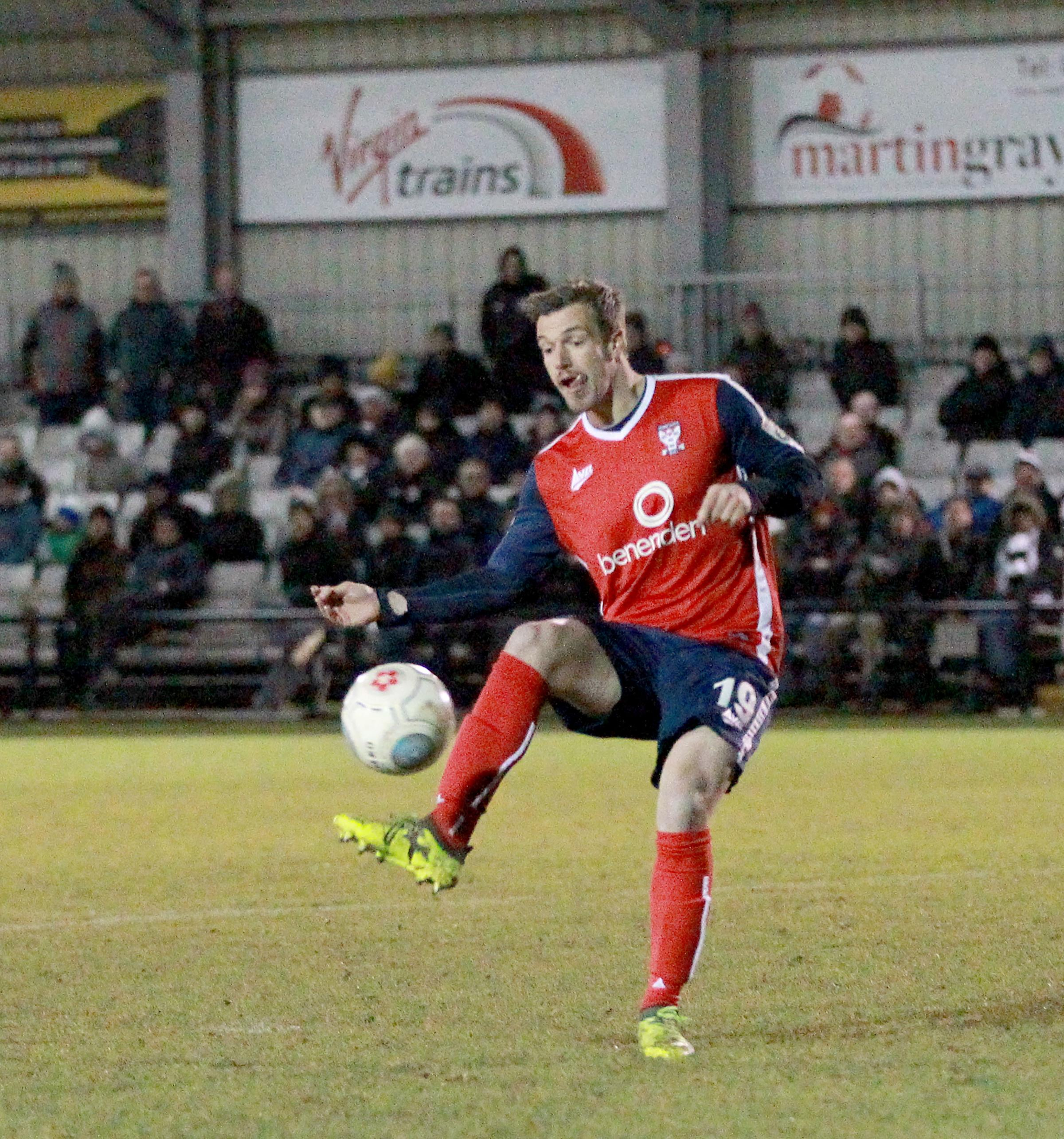 STILL WAITING: James Gray is yet to open his account in 11 games for York City. Picture: Gordon Clayton