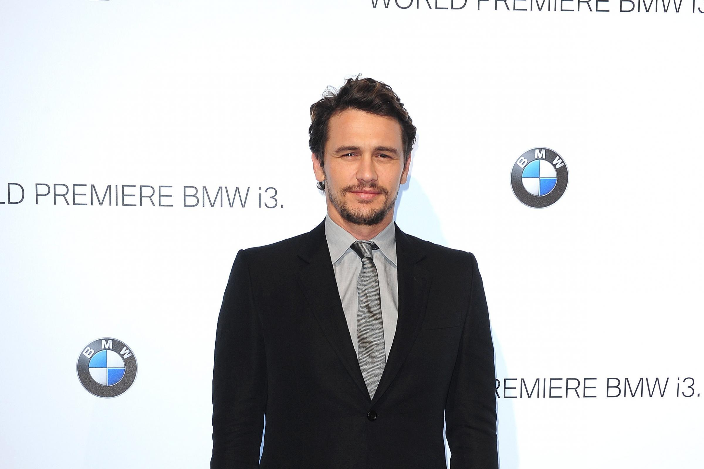 James Franco said initial allegations were 'not accurate' (Ian West/PA)