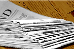 Newspaper Delivery Stack